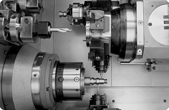 Прутковые токарные автоматы с ЧПУ продольного точения TRAUB