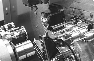 Прутковые токарные автоматы с ЧПУ продольного точения INDEX